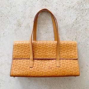 🌾 VINTAGE CELINE Monogram Embossed Bag